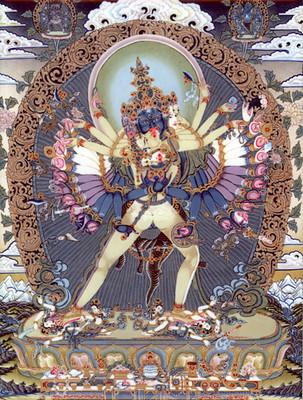 Chakrasamvara Tile