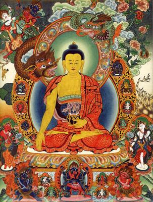 Shakyamuni Buddha Tile