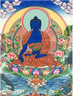 Medicine Buddha Tile