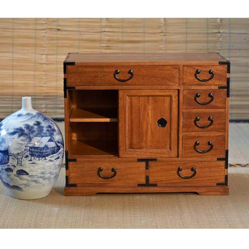 Family Altars For Sale: Small Tansu Cabinet For Home Altars Or As Accent Furniture