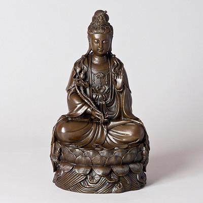 Kuan Yin on Lotus Seat