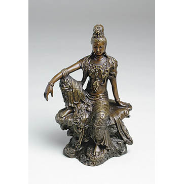 Bronze Royal Ease Kuan Yin