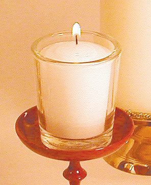 Clear Votive Holder