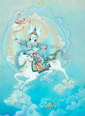 Shiwa Okar I Thangka Print