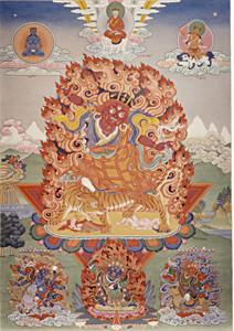 Dorje Trollo Thangka Print