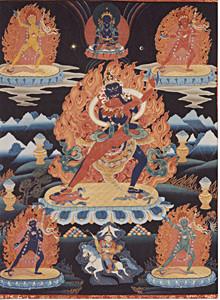Chakrasamvara II Thangka Print
