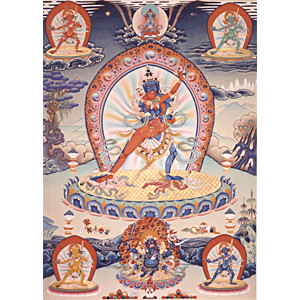 Chakrasamvara I Thangka Print