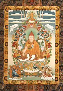 Mipham Rinpoche Thangka Print