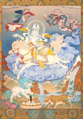 Shiwa Okar II Thangka Print