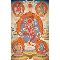 Vajrayogini Thangka Print