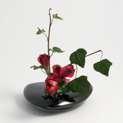 Triangle Vase - Black