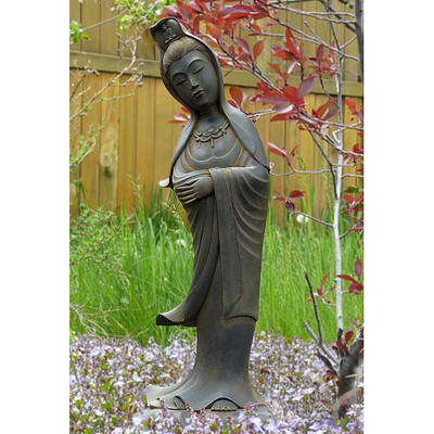 Peaceful Kuan Yin Statue