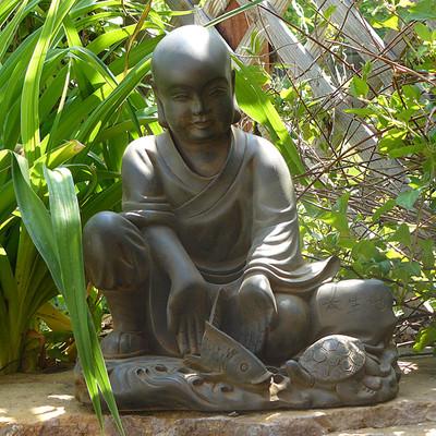 Loving Kindness Garden Monk