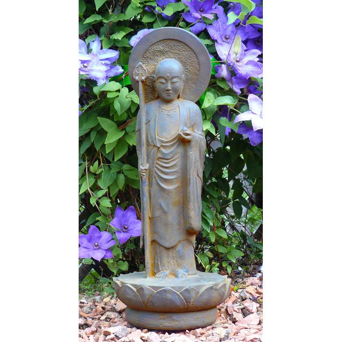 Bon ... Standing Garden Jizo Statue. Image 1. Image 1