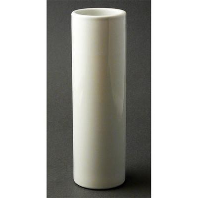 Nageire Cylinder Vase - White
