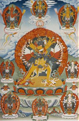 Kalachakra Thangka Print