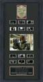 Dredd 3D film cell , signed by Karl Urban. with Dredd Badge.