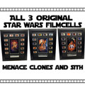 Star Wars: Original  Filmcell Set B