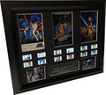 CUSTOM Signed - Star Wars Trilogy film cell (1977,1980,1983) Filmcell