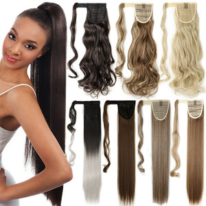 Clip In Hair Extensions Pony Tail wrap around