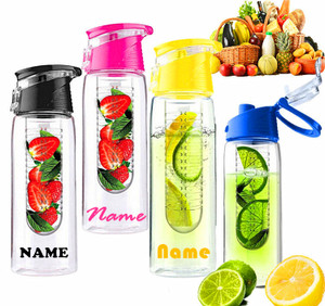 Customised Fruit Water Bottle 700ml