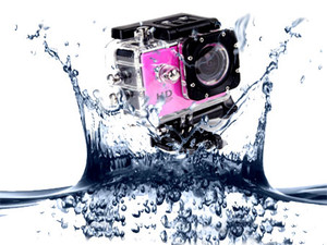 AdventurePro Waterproof HD720P Sports Camera with accessories