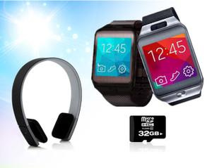 Smart Phone Watch and Bluetooth Headphone Bundle