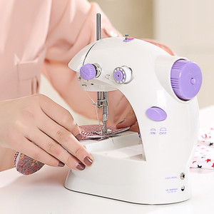 SmartMini Electric/ Mains Battery Powered Portable Handheld Stitch Sewing Machine