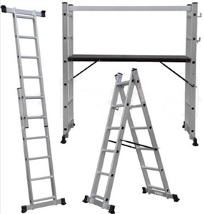 Ladder Aluminium 5 way scafforld extensions