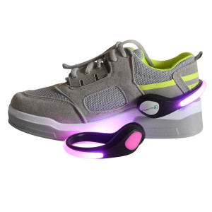 Colorful LED Flash Shoe Clip Lights
