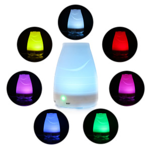 7 Color LED Essential Oil Diffuser - 100 ml Premium Cool Mist Aroma Humidifier