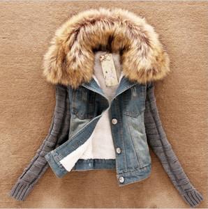 Women's Denim Winter coat