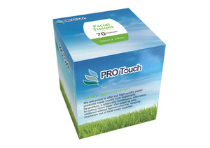 Pro Touch Facial Tissue Cube of 70 (box of 24)