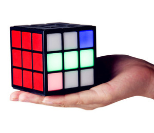 Magic Cube-shaped Portable LED Wireless Bluetooth Speaker
