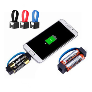 Smallest Portable Emergency Dry Cell Mobile Phone Charger