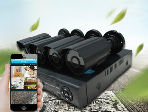 SmartHome  CCTV system mobile phone app compatible