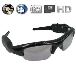 Digital Audio Video Camera DVR Sunglasses Sport Camcorder Recorder cam For Driving Outdoor 30p spy