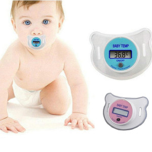 Baby Infants Nipple Pacifier Thermometer Temperature