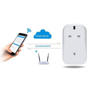 Wireless 2/3G/4G/WiFi Smart Timer APP Remote Control Power Switch UK Plug Socket