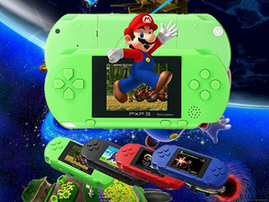 16 Bit Portable PXP3 Handheld Video Game Players SLIM Games Console with 160 kinds of Games + Game Card
