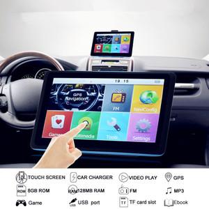 "7"" HD 8G Car Navigation 7 inch GPS Navigator Sat Navigation System"