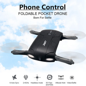 Foldable Pocket Selfie Drone With FPV Wifi Camera Quadcopter Phone Control Quadrocopter Helicopter