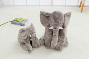 Baby Elephant Lumbar Pillow