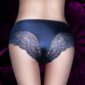 Pack of 3 Sexy Floral Lace Seamless Silk Underwear