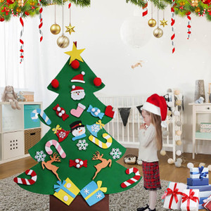 Deluxe Christmas Felt Tree DIY Craft