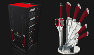 8-Piece Berlinger Haus Knife Set With Stand