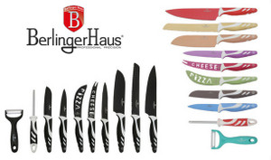 10-Piece Berlinger Haus Non-Stick Knife Set - 2 Colours