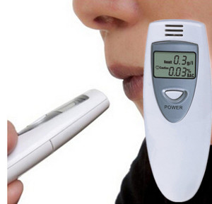 Mini Digital LCD  Alcohol  Analyser Breathalyzer