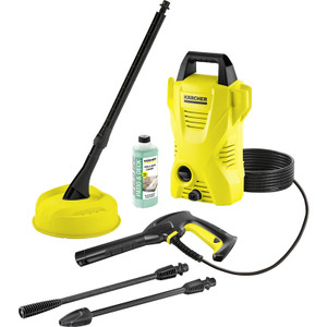 Karcher K2 Compact Pressure Washer and Patio Cleaner 240V 110 bar