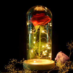 Romantic Light up Rose lamp